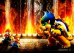 Mario-Future Battle by xXLightsourceXx