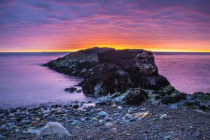 Sunrise in Howt by Wanowicz