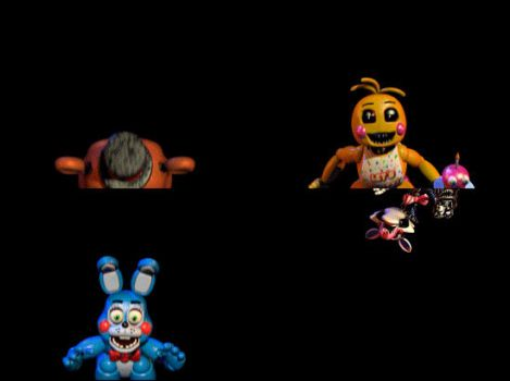 Five Nights At Freddy's 2 - All Toys Gif by StellasStar