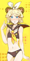kagamine rin by p-ivetto