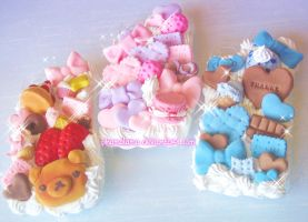 Yummy Decoden iPhone Cases~ by kpossibles