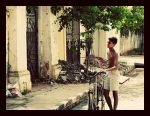 The Cyclist by abhimanyughoshal