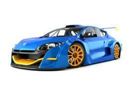 Renault Megane Trophy Car by SamauriPizzaCats