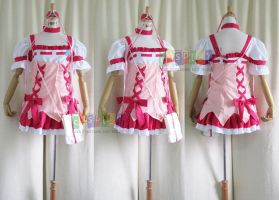 Cure Peach Cosplay Costume by Cosplayfu