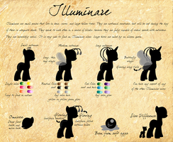 Illuminare Species Reference (Placeholder) by WaterLillyHearts