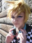 Casual!Roxas- Saddness Deep Within Those Eyes by DreamsOverRealityCos