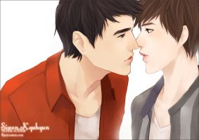 WONKYU : What If I Kissed You? by rixal