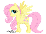 Fluttershy by AgnessAngel