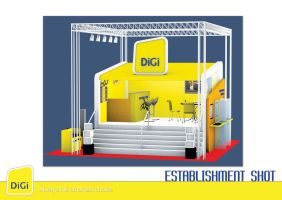 Digi Promotional Booth by chuinhao10
