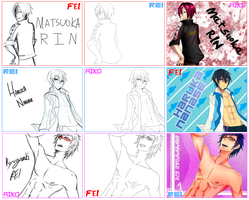 Free! Switcharound Meme with Fei and Rei by Aikobo