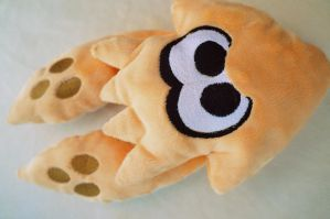 Mango squid plush by Fafatacle