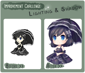 IC: Lighting and Shadow by Cheezieball
