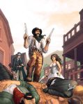 Western RPG Cover by JerMohler
