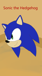 Sonic Head Pose by YoniD3010