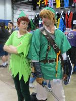 Link and Peter Pan 3 by scoldingspirit84