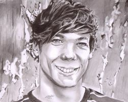 louis from one direction by jonesy012