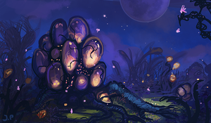 Enchanting Alien Cluster by Minionslayer