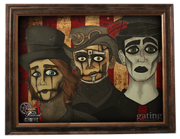 Steam Powered Giraffe by gating