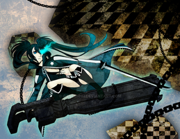 Black Rock Shooter by Ganeshhh