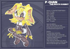 P-Chan the Death Rabbit by Pichu-Chan
