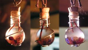 Magic Vial - Golden Fire by Izile