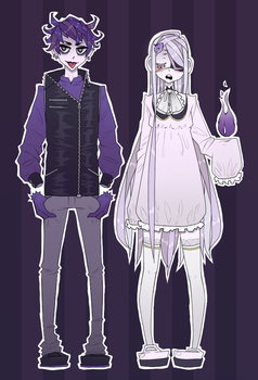 Gijinka Ghosts by naanan