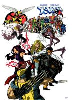 Xmen in colors by stephgallaishob