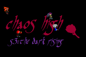 chaos high s3 logo by jaquille1
