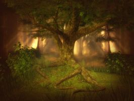 Forest Light free background by moonchild-ljilja
