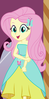 Equestria Girls - Fluttershy by Liggliluff