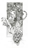 Life of Pi Chapter Heads - One by Pandora-intheSKY