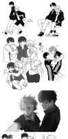 Haikyuu: Kagehina Compilation by aokamei