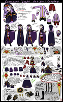Vaati concept design-cosplay layout/tutorial tips by pikminAAA