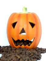 Coffee Pumpkinhead by Tricia-Danby