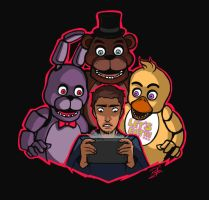 Five nights at Freddy's by Rofer96