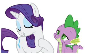 Dear Rarity.( vector)png by Acuario1602