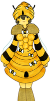 CB the Bee Wizard by Ask-MusicPrincess3rd