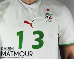 Matmour Maillot 13 by elhadibrahimi