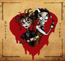 Sweeney Todd-Partners in crime by aliencatx