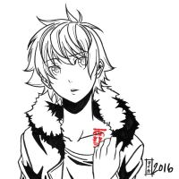 commission. Earthquake Relief 03 - Yukine by maioceaneyes