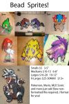 Bead Sprite Price Guide by ShaggyGriffon