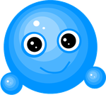 Blue Vector Emote by Snowshi