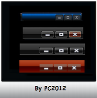 12 StyleHacks For TitleBar by PC2012