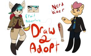 Draw To Adopt 1/2 by Jos-if