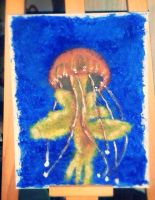 Jellyfish Painting by Hushercide