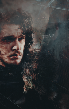 Jon Snow by drargons