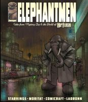Elephantmen ebony by moritat