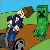 minecraft/happyweels by Andie200
