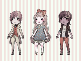 Neutral Colored Adopts [CLOSED] by thelandbaby