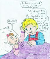 Charlie and Louise by Jose-Ramiro